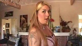 Jocelyn Stone rides on a big cock