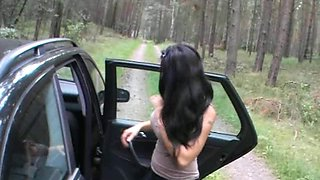 german amature fucked in nature and car