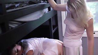 Lesbian mormon rubbing