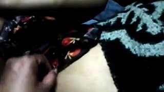 Indian Muslim aunty With Husband 1