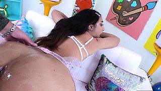 NYMPHO Kiarra Kai is craving a big cock