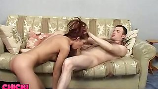 Owning Redhead in High Heels