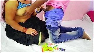 Droigan Teacher ne Bhabhi ko Droigan dekha kr liya sex k maj