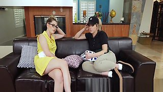 Amateur gets taboo oral