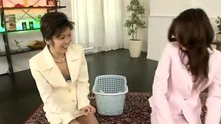 Fabulous Japanese whore Yuuna Takizawa in Exotic Massage, Threesomes JAV scene