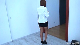 Constantly busy girlfriend Ornella Morgan gets fucked doggy style