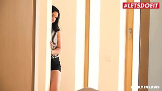 Alice Nice And Lucia Denvile - Sexy Slovakian Brunette Banged Hard By Her Step Brother