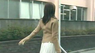 Amazing Japanese chick Miki Karasawa in Hottest Strapon, Lingerie JAV scene