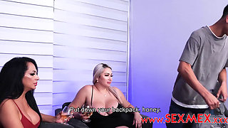Sexmex Gali Diva Loree Fucks Her Friend's Son