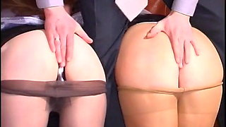 Russian Irene A 21 - Pantyhose Threesome (feat. Frieda)