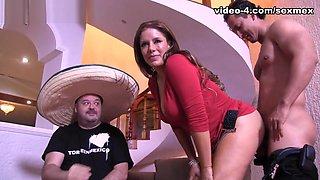 Nicky Ferrari in First Fuck Video - SexMex