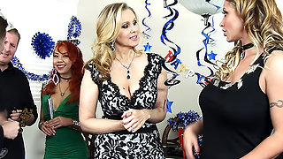 Julia Ann, Eva Notty & Axel Aces in My Friend's Hot Mom