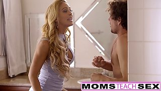 momsteachsex - my bf caught and punished by step mom