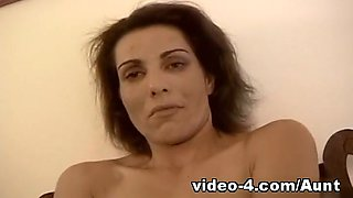 Video from AuntJudys: Amateur mature fucks her pussy with vibrator