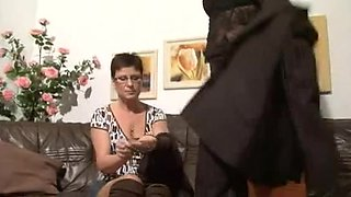 Mature German whores fuck hard with youngsters