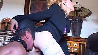 Tongue training by mistress karin