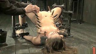 Bondage Slut tied and punished