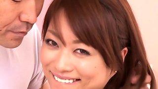 Hottest Japanese chick Akari Hoshino in Amazing JAV censored Swallow, Hairy scene