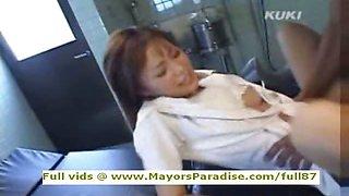 Yua Aida innocent Chinese nurse enjoys lots of sex