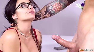 luxurious whore wife bianka blue fornicates with pool boy