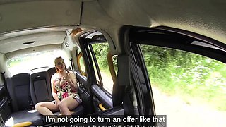 Fake Taxi Busty sexy redhead loves rough backseat fucking