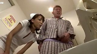 Crazy Japanese slut in Fabulous Stockings, Nurse JAV video