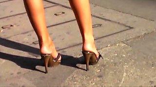Crazy amateur High Heels, MILFs sex movie