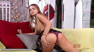 Sexy Harley Jameson Vibrator Clit Play