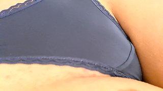 DARK BLUE PANTIES 4K 60FPS