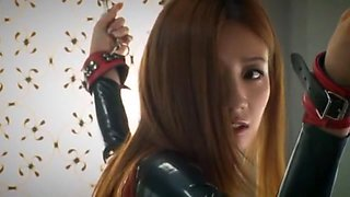 Incredible Japanese model Kaori Maeda in Amazing Latex, BDSM JAV scene