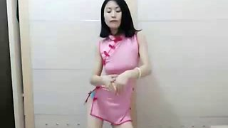 Asian girl first time caming