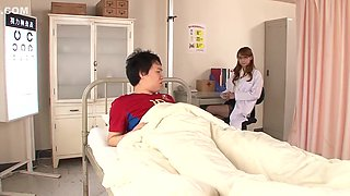 School doctor fucks a student in the infirmary! Full 48min video: http://bit.ly/318bEgT