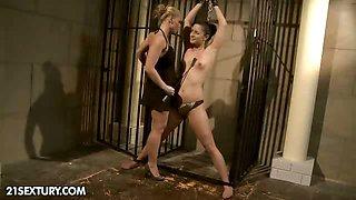 Barbie Pink gets punished