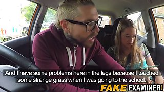 cock craving british minx screwed during driving class