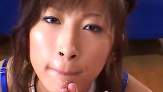 Exotic Japanese slut Leila Aisaki, Chihiro Hara in Amazing Cougar, Masturbation/Onanii JAV scene
