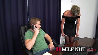 Son abuses hot blonde mom cory chase the new wife