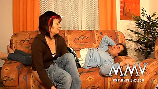 German housewife loves to suck a big dick