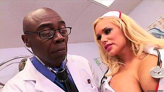 Nurse Shyla Stylez Butt Sex Nailed