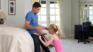 Father disciplines ally's daughter first time Seducing My St