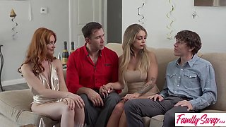 Lacy Lennon And Madelyn Monroe - To Swap Family My New Years Resolution Is To Get Creampied By Swap Dad Or Swap Brother S2:e3