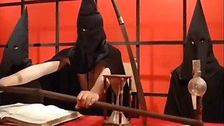 Christa Free In Vintage Blonde Slave