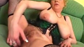Monster Saggy Tits Granny Stockings Interracial BBC