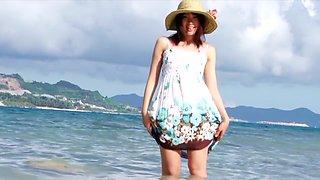 Fabulous Japanese girl Haruka Ito in Horny bikini, outdoor JAV movie