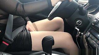 Masturbating While Driving