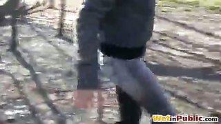 Bus stop leaking