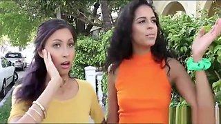 Spanish Teen Girls In Hot Foursome (Jade Jantzen and Vienna Black)