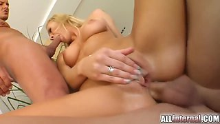 Pierced Clit Cuties Gets Frothy Creampie