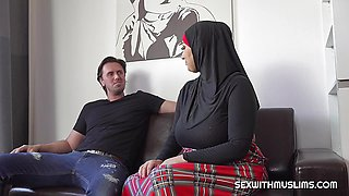 Thomas fucked his sexy muslim sister-in-law