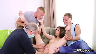 Doctor watches hymen physical and virgin cutie pounding89lWd