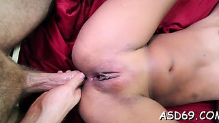 Sultry exotic rose does her most excellent to cum